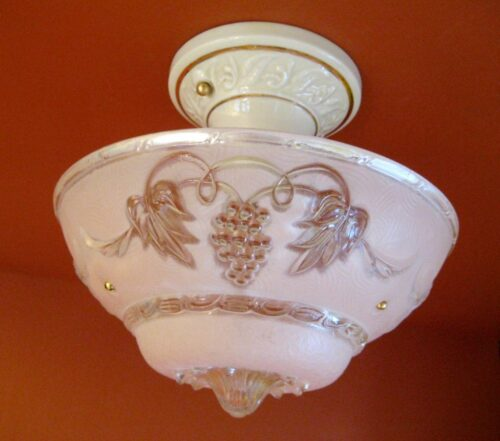 1930s pink by Porcelier. Bath Kitchen Bedroom. MORE AVAILABLE.