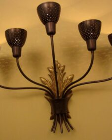 PAIR Mid-Century sconces. Wow. More available.